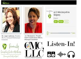 Conscious Media Consulting, LLC, Podcast Serenity Counseling and Wellness Center, Media Literacy