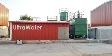 Effluent treatment plant design based on anaerobic and aerobic technology with MS tanks