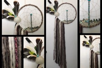 Dream Catcher, Sand Dollar Moon over Abalone Ridge