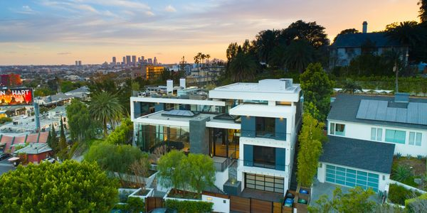 Drone Photography of Real Estate in Los Angeles