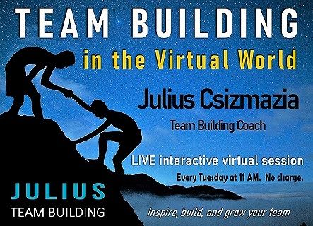 leadership, team building. virtual events, virtual meetings, team building activities, teamwork