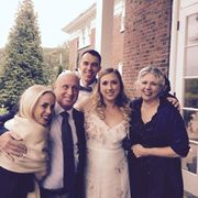 Jess, Jim, Theo, Julia and Me at Mel and Steve's wedding Sept 2017