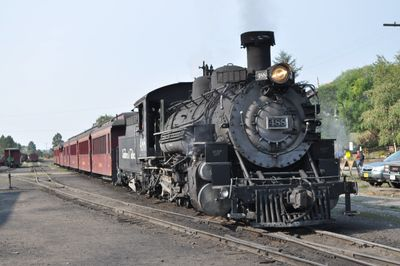 Cumbres and Toltec train in Chama NM