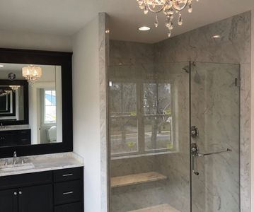 Custom Frameless Shower Door