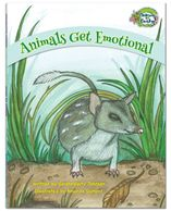 Emotions and feelings book for children from the Animals Get Funky! Series.