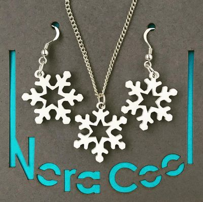 Perspex Jewellery from Nora Cool
