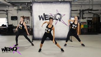 WERQ is the fiercely fun dance fitness class based on pop, rock, and hip hop music. The warm up prev