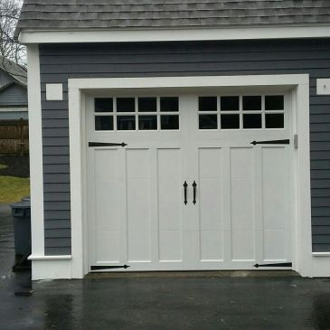 New garage doors and openers