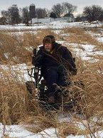 This trackchair is amazing I went with my family on a pheasant hunt even though I didn't carry a gun