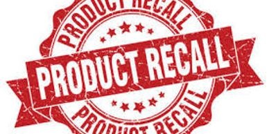 Product recall decal