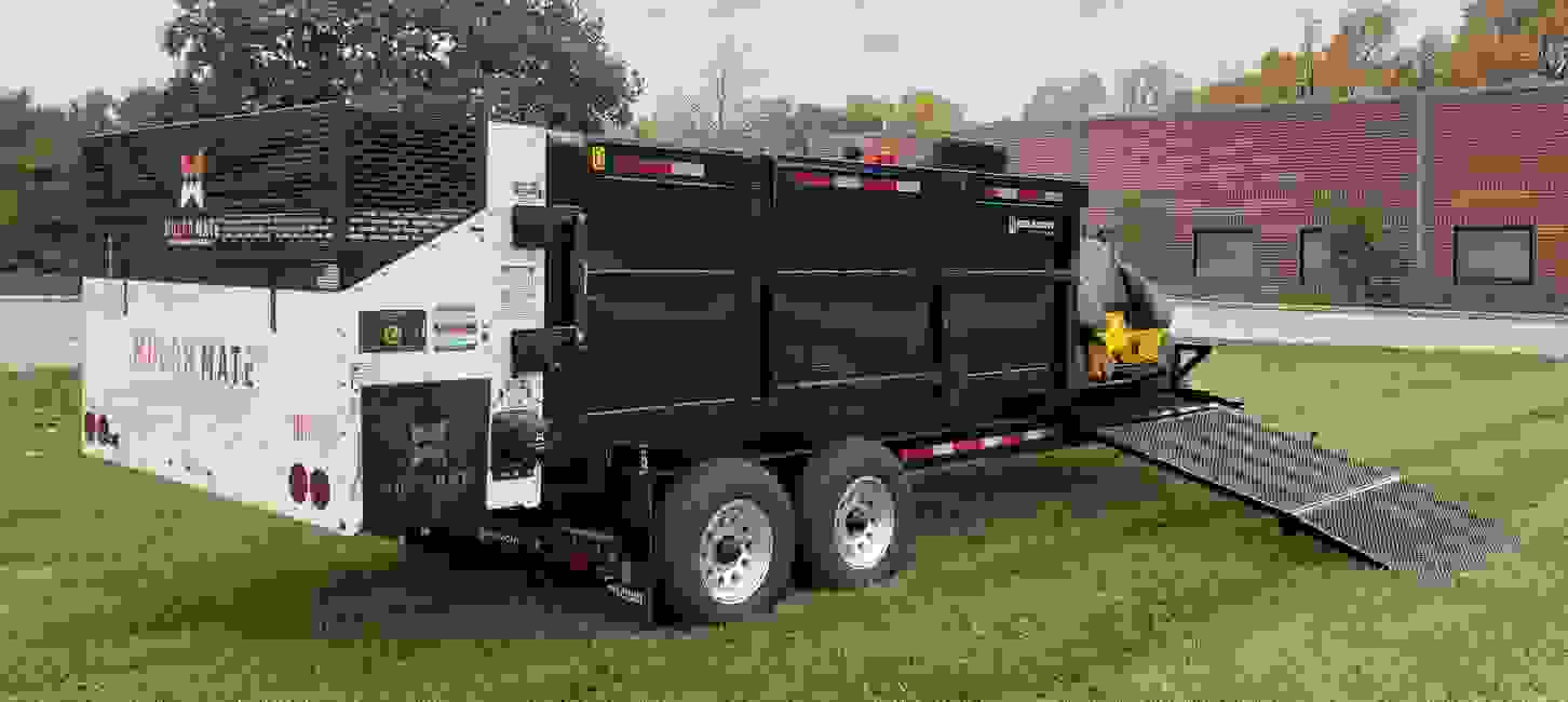 Terrain Pro and a Mulch Blower are no longer your only option for a towable mulch trailer. Announcin