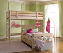 loft bed bunk bed twin full trundle solid wood custom built Kinston Goldsboro Greenville Eastern NC