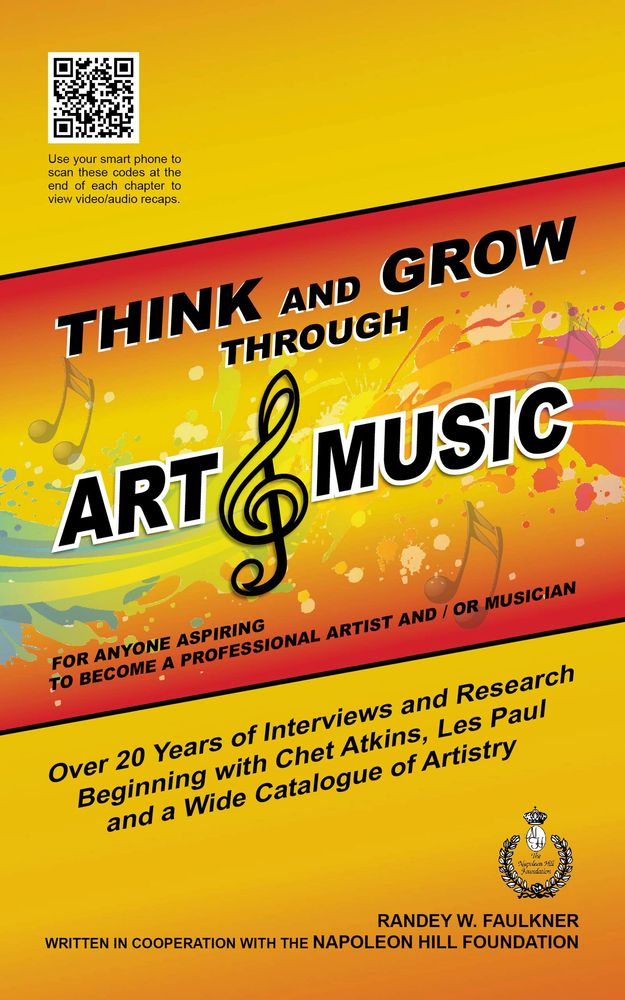 think and grow through art and music book cover