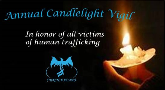 Phoenix Rising Annual Candlelight Vigil for Human Trafficking Victims, Awareness, Bowling Green, KY