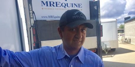 Hector Rodriquez at Idaho Equine Hospital