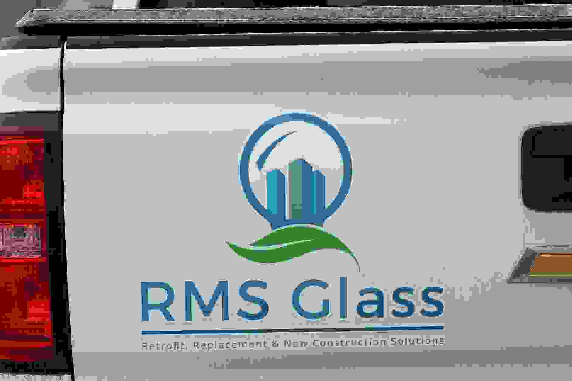 RMS Glass: Retrofit, Replacement & New Construction Glass Solutions Truck