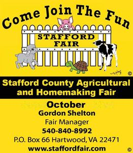 THE FAIR IS IN OCTOBER.  GO TO WWW.STAFFORDFAIR.COM TO SEE WHAT IS COMING UP THIS YEAR!