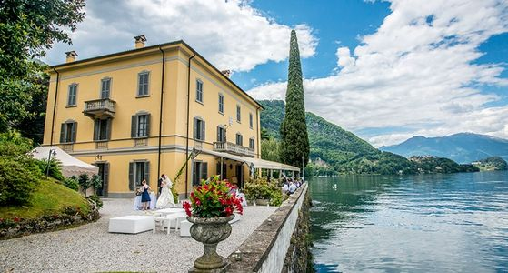 Rosa Aqua Weddings, Lake Como, Italy