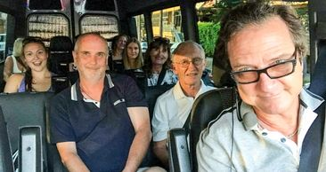 Mark Morrow, #1 tour guide in town! Think of Sightseeing Tours, think of Legends Of Hollywood Tours