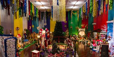 Waikerie's Santa's Cave is run by volunteers to bring the spirit of Christmas to Waikerie.