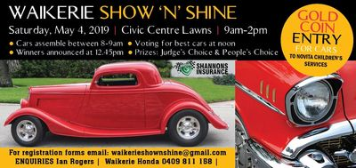 Waikerie Show 'n' Shine, Saturday May 4 2019