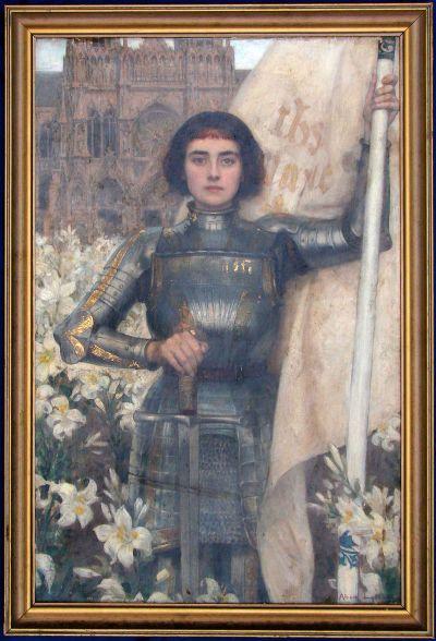 Joan of Arc by Albert Lynch Oil on canvas
