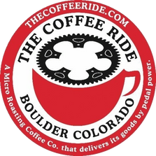 the coffee ride logo