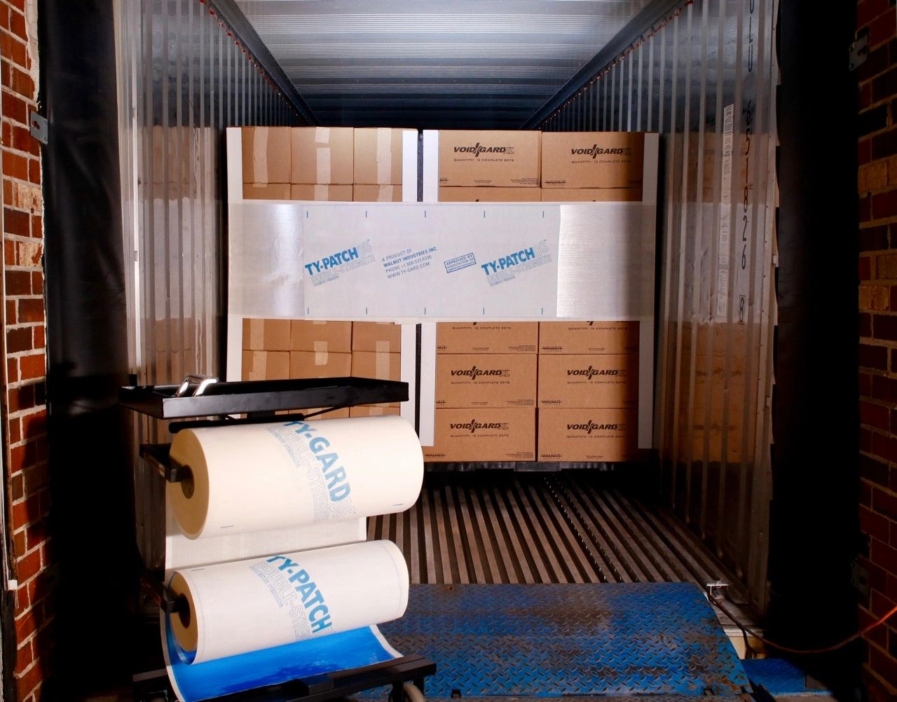 Cargo Restraint. Cargo Securing. Load securing. Container Straps. Airbags. Ty-Gard Barrier.