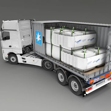Cargo Securing. Container load restraining and securing solutions. Transport packaging solutions.