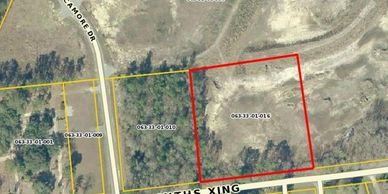 3 acres for sale behind Factory Direct Boat and RV Megastore