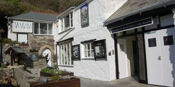 With raft and Magic Museum, Boscastle