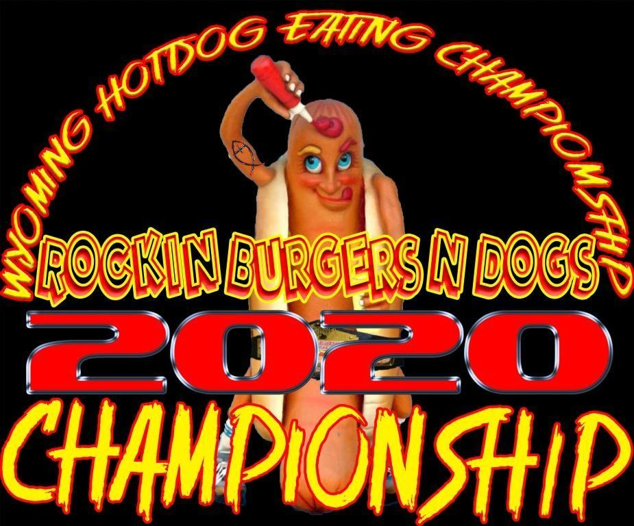 Casper Wyoming Hot Dog Eating Championship Labor Day 2020 Rockin Burgers N Dogs Food Truck