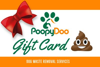 Dog Poop Removal Gift Card