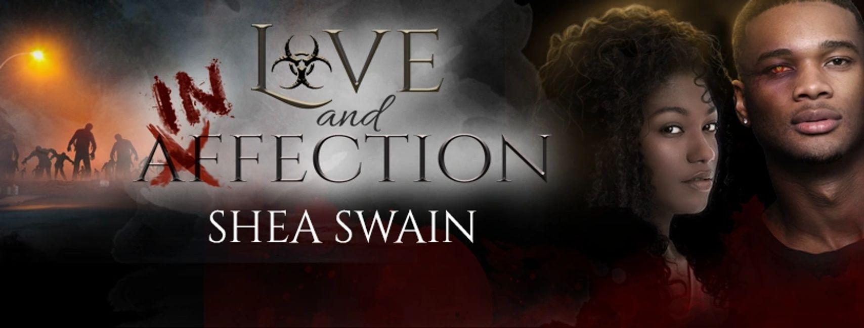 Love and Infection, a para-sci zombie-like romance by Shea Swain