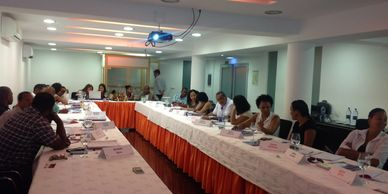 Our first Portuguese Trainer-Mentor course in Cape Verde.