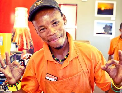 Micro-MBA graduate Wongoma, cofounded Department of Coffee coffee shop in Khayelitsha, Cape Town