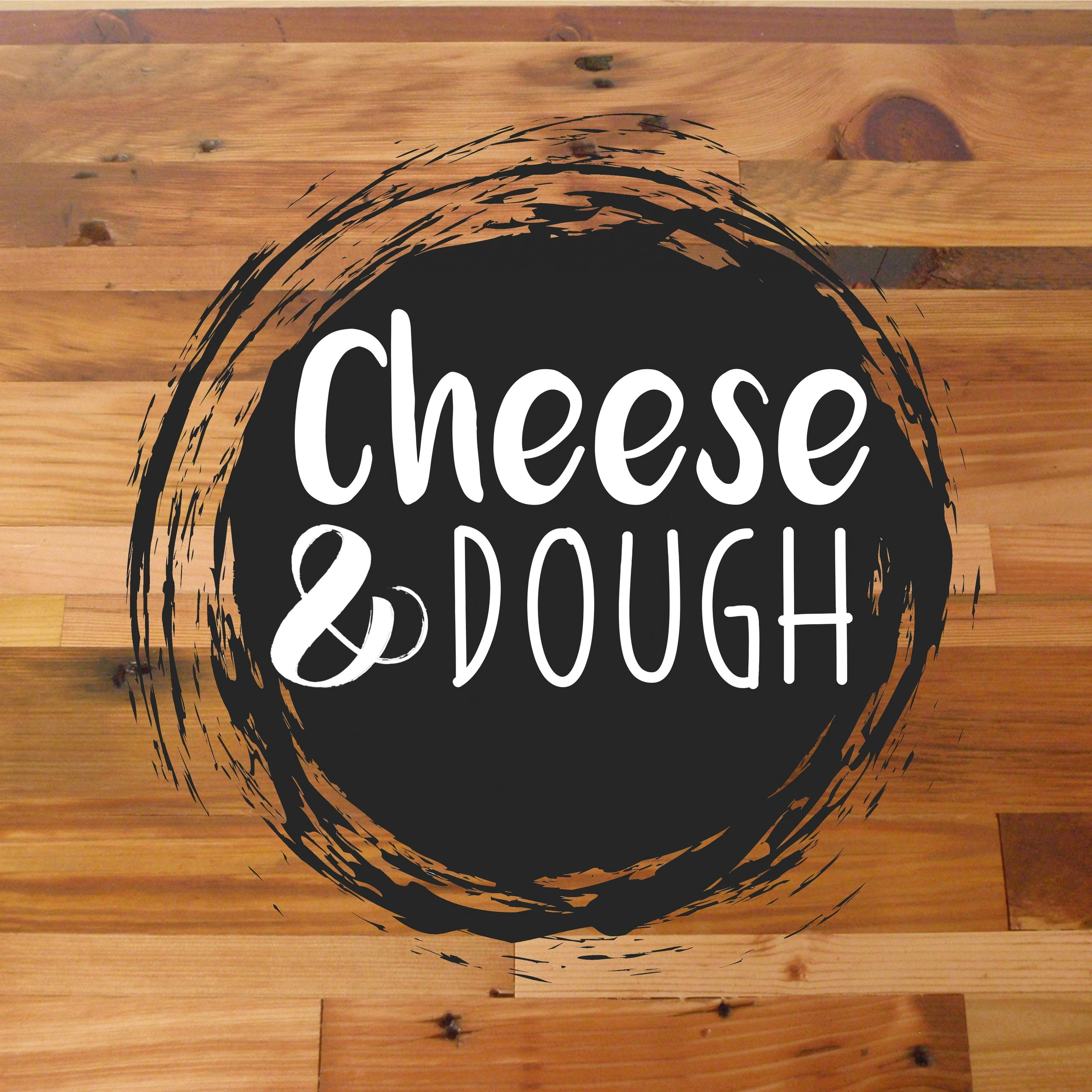 Cheese and dough logo