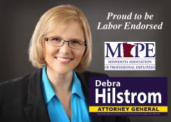 Debra Hilstrom for Minnesota Attorney General