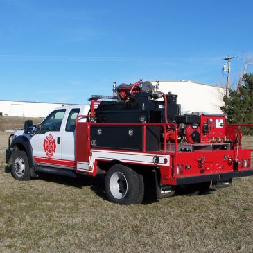 From Brush Truck Beds to Tanker Trucks and Water Monitors, BBE can build what your VFD needs.