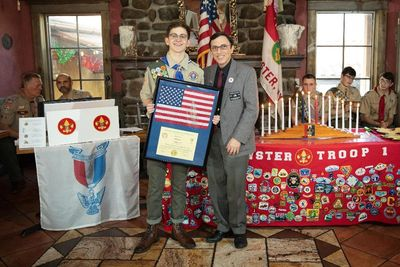Liam is Peter Priolo Brewster Elks Lodge Exalted Ruler and Youth Activities Chairman.