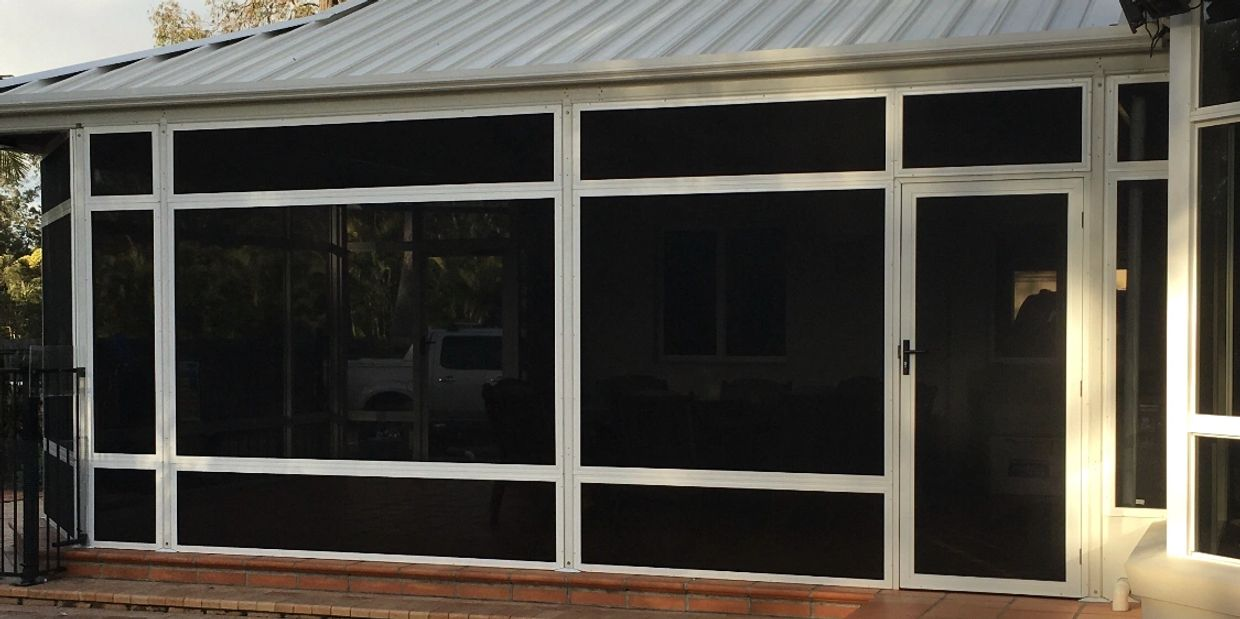 Supa Shield Security Screens The Clear Choice!  Perfect For Windows, Doors & Enclosures.