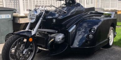 2009 Martin conquest wheelchair BMW trike  needs nothing except a new rider only 3 k miles  $21,900.