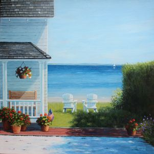 Summer Afternoon 20x20