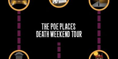 Poe  Places Death eekend Tour