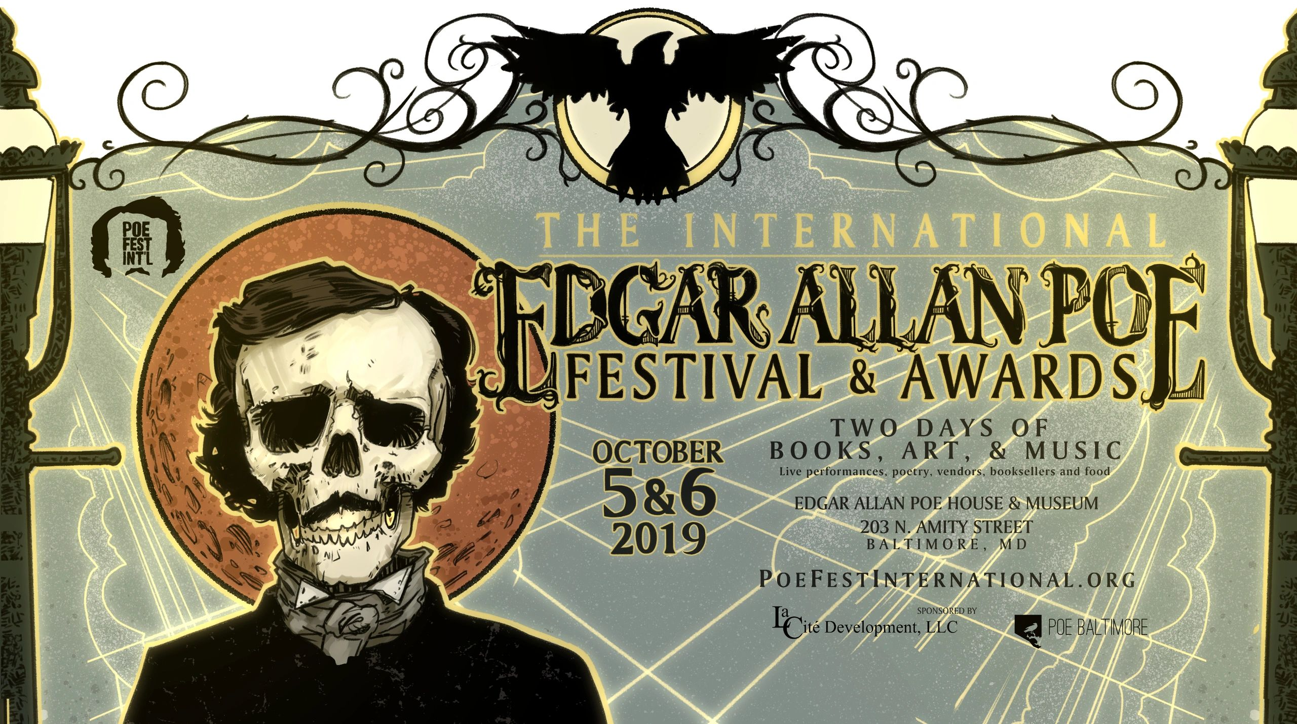 Poe Fest International is October 5 & 6, 2019