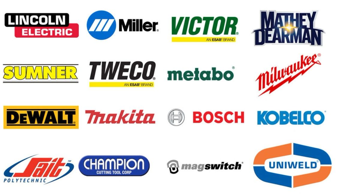 Welding Supplies brands