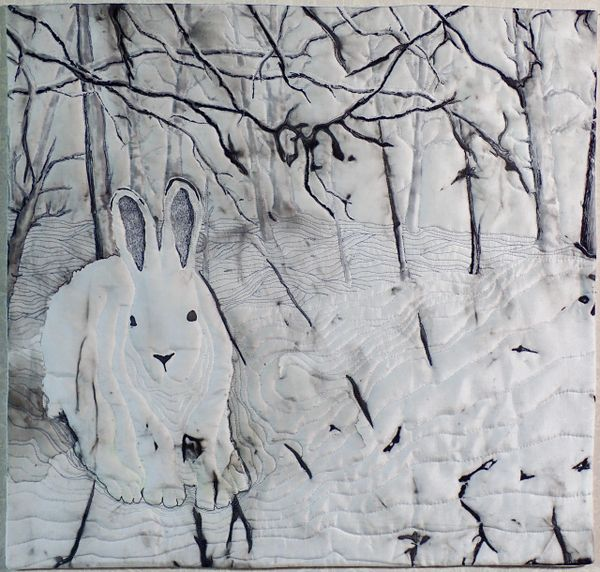 January Hare by Marty Kotter