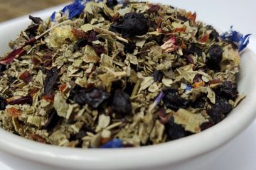 Real Huckleberry Delight Loose Leaf Tea