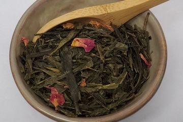 Cherry Green Tea Loose Leaf