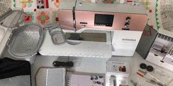 Bernina 765 SE Special Edition Rose Gold Sewing, Quilting, Embroidery Machine.